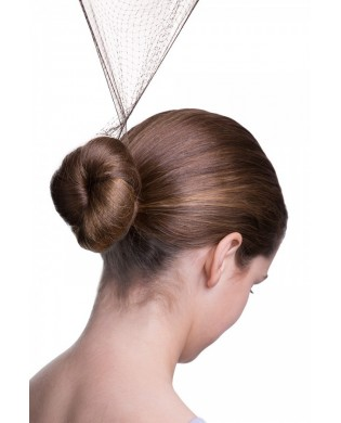 Bun nets for brown hair