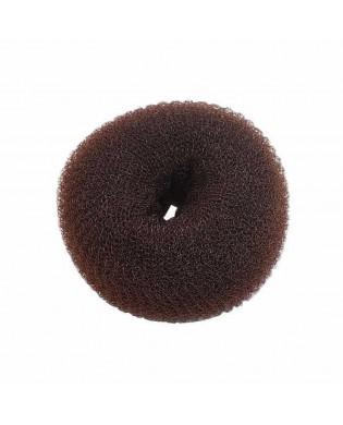 Donuts à chignon marron