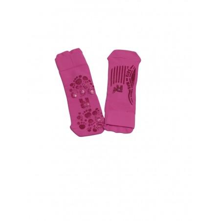 Children anti-slip socks pink fuchsia