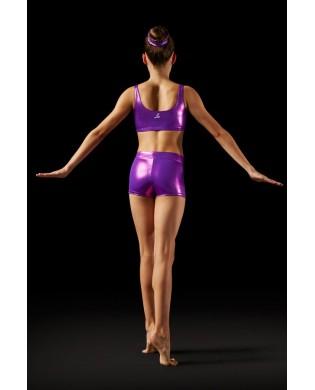 Short Gym et Pole Dance Violet