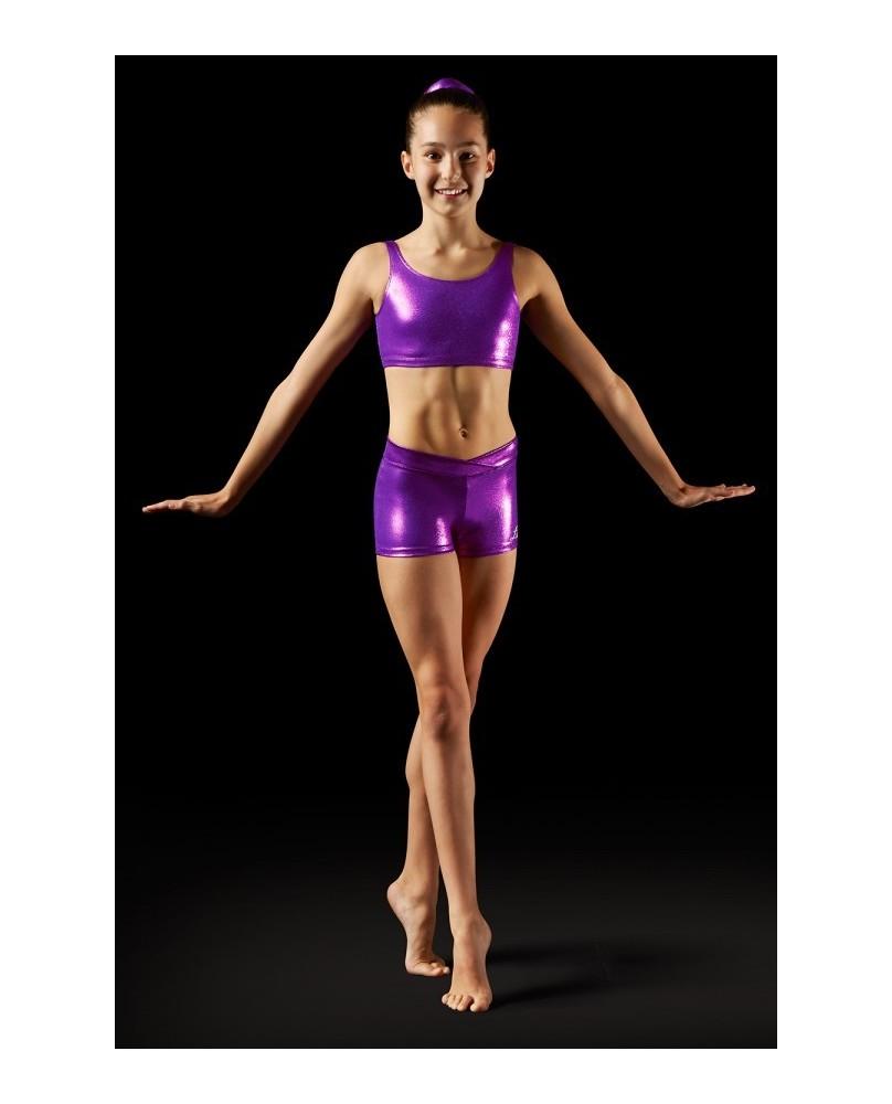 Brassière Gym et Pole Dance Violet