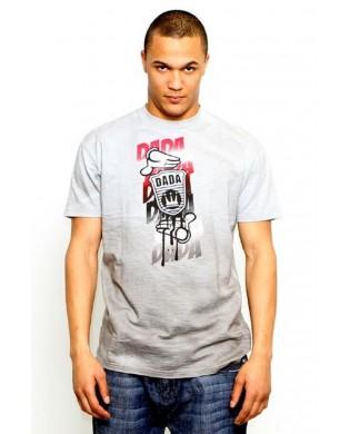 T-Shirt Homme Gris Gradien