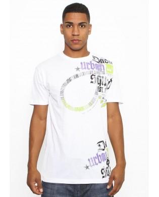T-Shirt Homme Rio Blanc et Violet