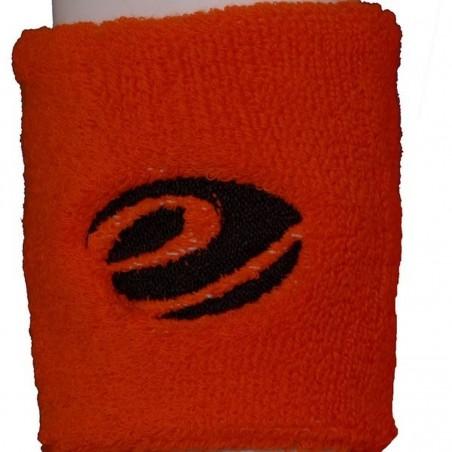 Orange Sponge Sport Wrist Band