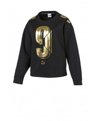 Black & Gold Hip Hop Sweatshirt