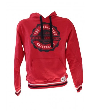 Red Boxer Hoodie for Men
