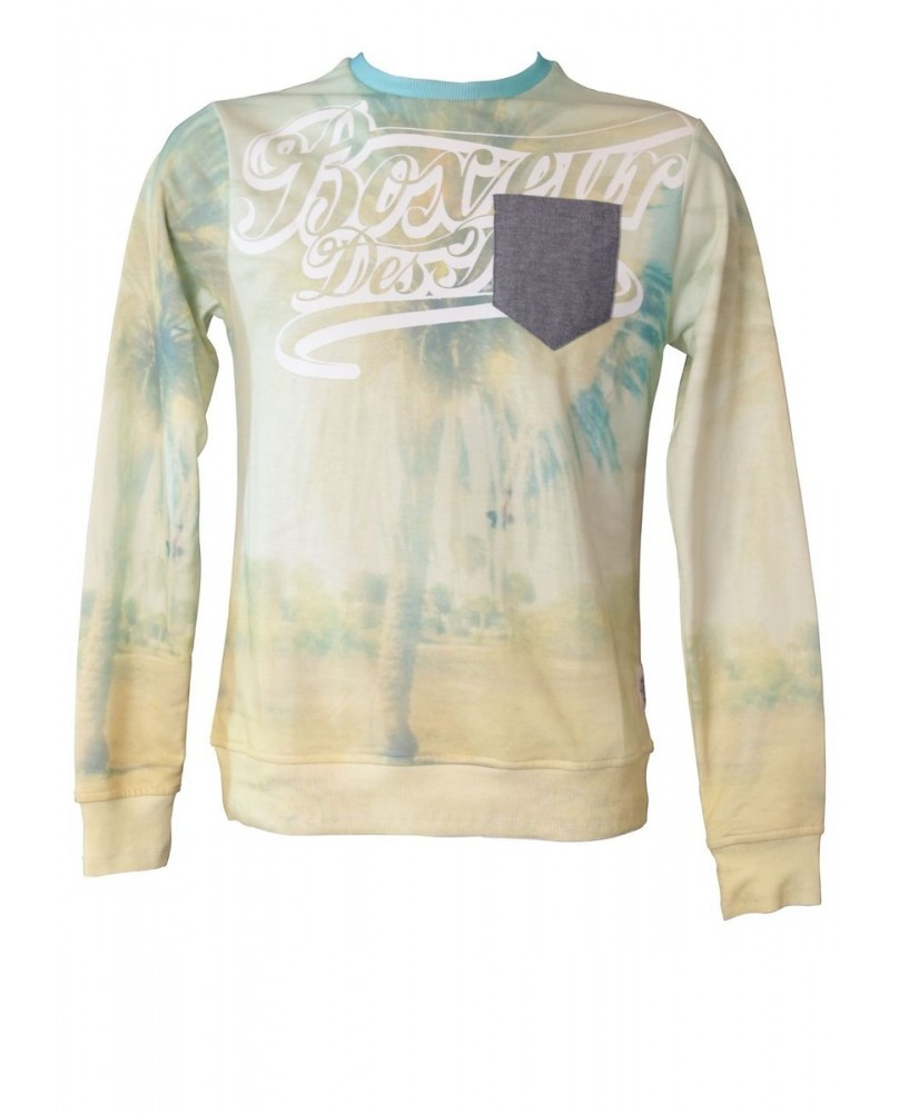 Sweat Shirt Homme Boxeur des Rues California