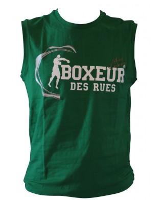 Débardeur Homme Musculation & Running Vert