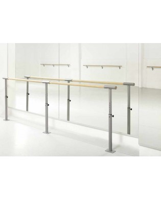 Adjustable console ISA FIX for Ballet Barre
