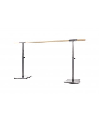 ISA selectable heights Ballet Barre with weels