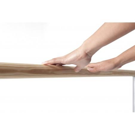 Natural pine wooden dance ballet barre