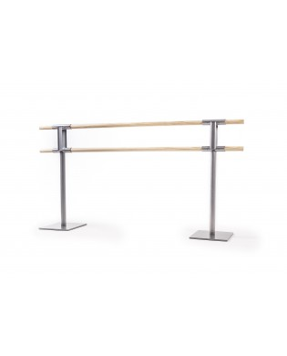 PINA dual portable dance barre without wheels