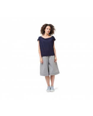 Gray Sport Pants Skirt