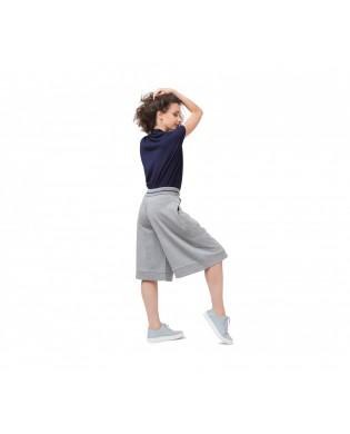 Jupe Culotte Sport Gris