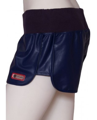 Navy blue women's sports shorts