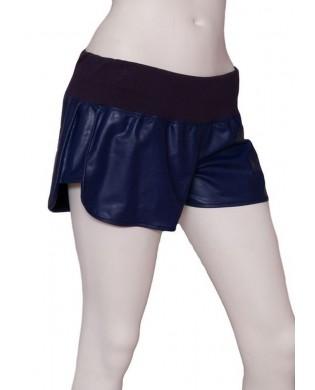 Short Danse Femme Bleu - S