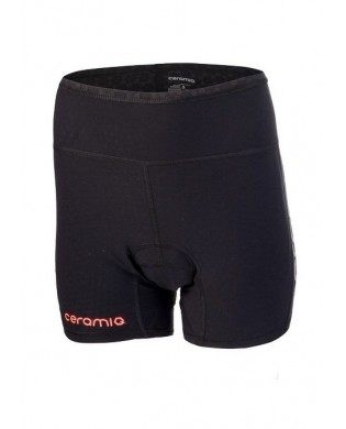 Black cycling woman Shorts