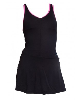 Cool Black Sport Dress with Short