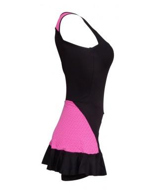 Robe Short Danse & Fitness Now Noir Rose