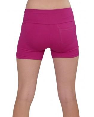 Short Fitness & Running Femme Power Framboise
