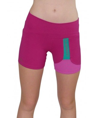 Short Fitness & Running Femme Power Framboise