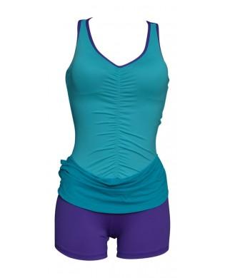 Robe Short Danse & Fitness Turquoise