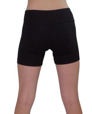 Short Fitness & Running Femme Power Noir