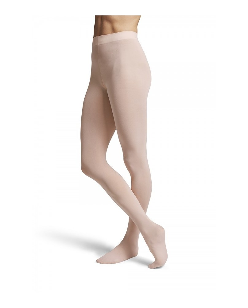 Contoursoft Damen Ballettstrumpfhose mit Fuß