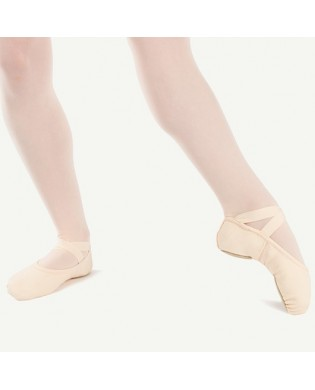 Canva Split Sole Sybel Ballet Shoes