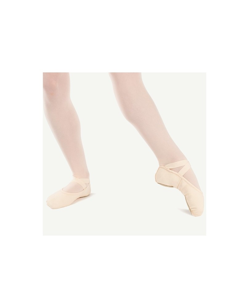 Sybel half-slippers in salmon pink canvas sizes 33.5, 36, 37 and 42