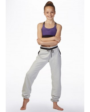 Gray Sport and dance Child Jogging Pant