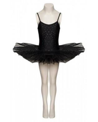 Tutu Justaucorps de Danse Sparkly Noir