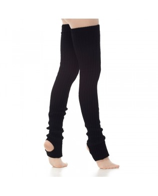 Black Long Leg Warmers