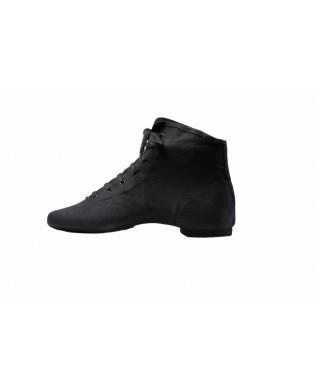 Unisex Black Modern Jazz Mid-calf Boots