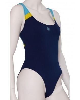 Maillot de Bain 1 Pc Marine Turquoise XS