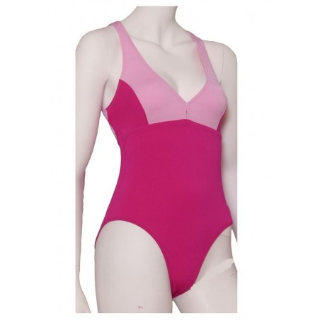 Swimsuit Pink and Raspberry XS