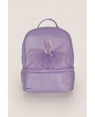 Purple Dance Backpack for girls