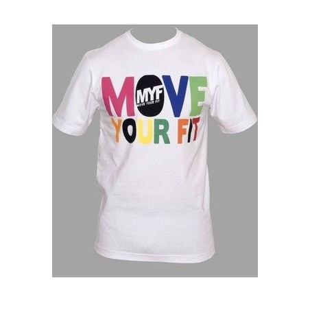 White Fitness Move Your Fit T-Shirt