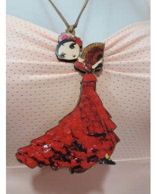 Flamenco Dancer Pendant
