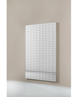 Wall Mirror with screen grid pattern for rehabilitation