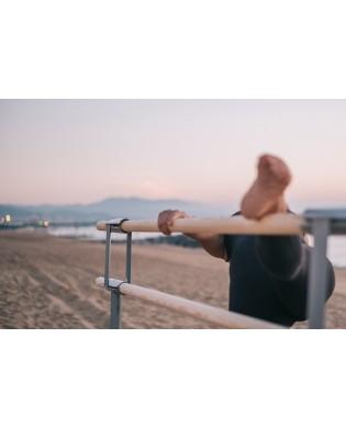 Barre de danse Mobile professionelle Gisèle avec roulettes