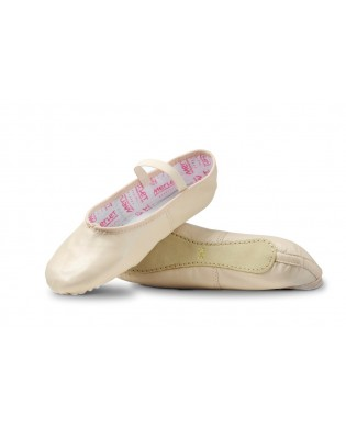 Salmon Leather Ballet Slipper ECLAT