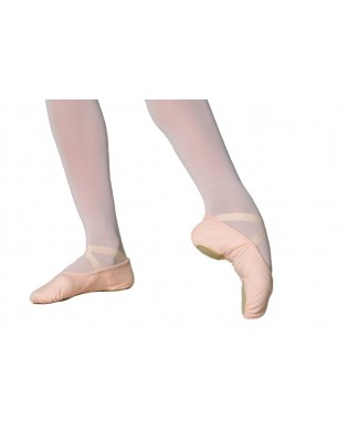 Stella soft ballet shoes - Salmon