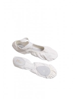 Stella soft ballet shoes - White