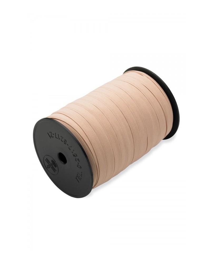 Elastique 12 mm Saumon pour Chausson ou Pointes vendu au mètre