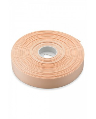 Ruban Coton Saumon 22 mm pour Pointes vendu au mètre