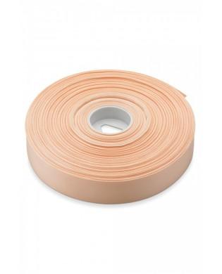 Cotton ribbon width 22 mm color Salmon