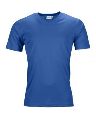 Men's V-Neck Short Sleeve Sport T-shirt