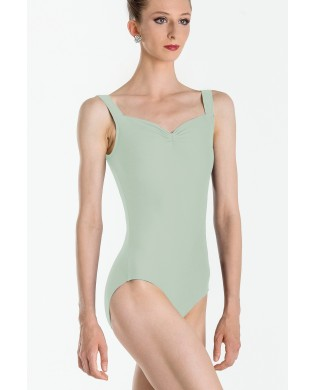 Faustine Light Green Leotard for woman