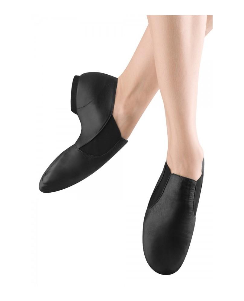 Chaussures Elasta Bootie cuir Noir Femme